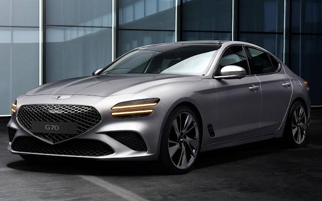 Novo Genesis G70 2021
