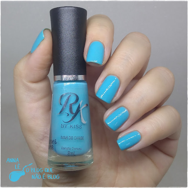 Mar do Caribe RK By Kiss Esmalte Nailpolish
