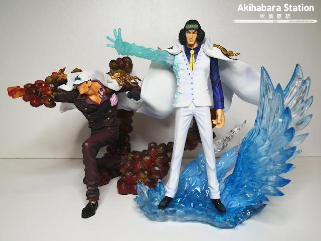 Review de Figuarts ZERO Kuzan Aokiji The Three Admirals - EXTRA BATTLE - de One Piece - Tamashii Nations