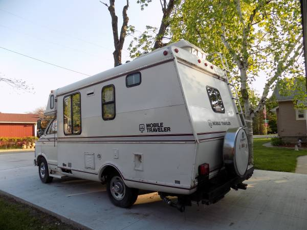 Used Rvs 1978 Dodge Sportsman Camper For Sale By Owner