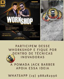 Workshop para barbeiros em campinas