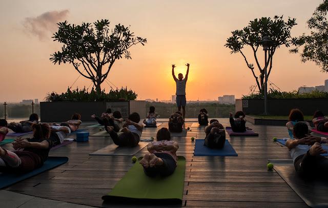 Yoga day in Lexington Residence 2021