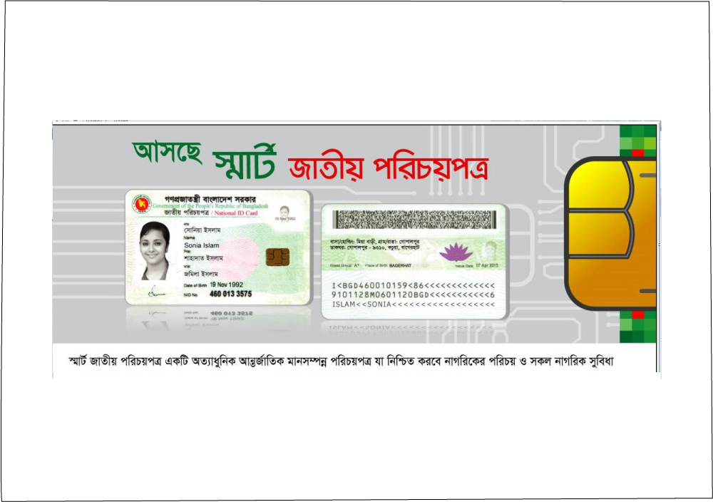 voter id card correctionnid bd national identity