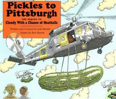 Cloudy With A Chance Of Meatballs 2 Movie - Pickles to Pittsburgh Film