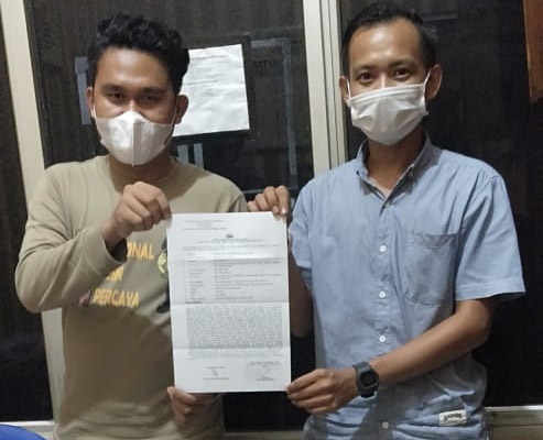Terkesan Diacuhkan,  Keluarga Korban Dugaan Malapraktik Laporkan Mantri Ag  ke Mapolres Mesuji