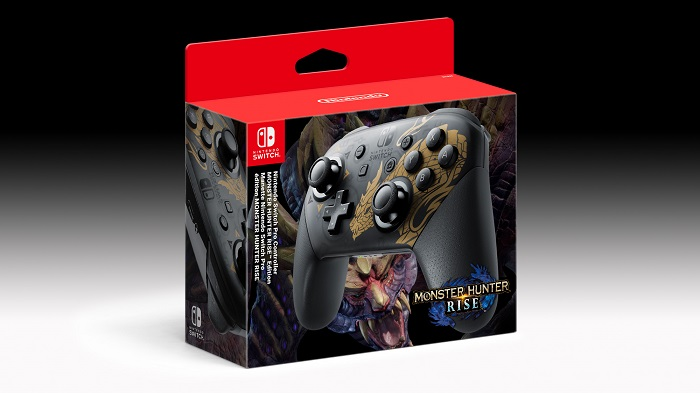 Pro Controller Monster Hunter Rise Special Edition Price
