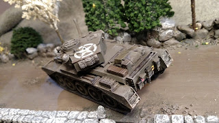 British 11th Armoured Division A34 Comet