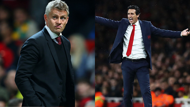 Ole Gunnar Solksjaer and Unai Emery will face-off this weekend as Manchester United host Arsenal in the Premier League