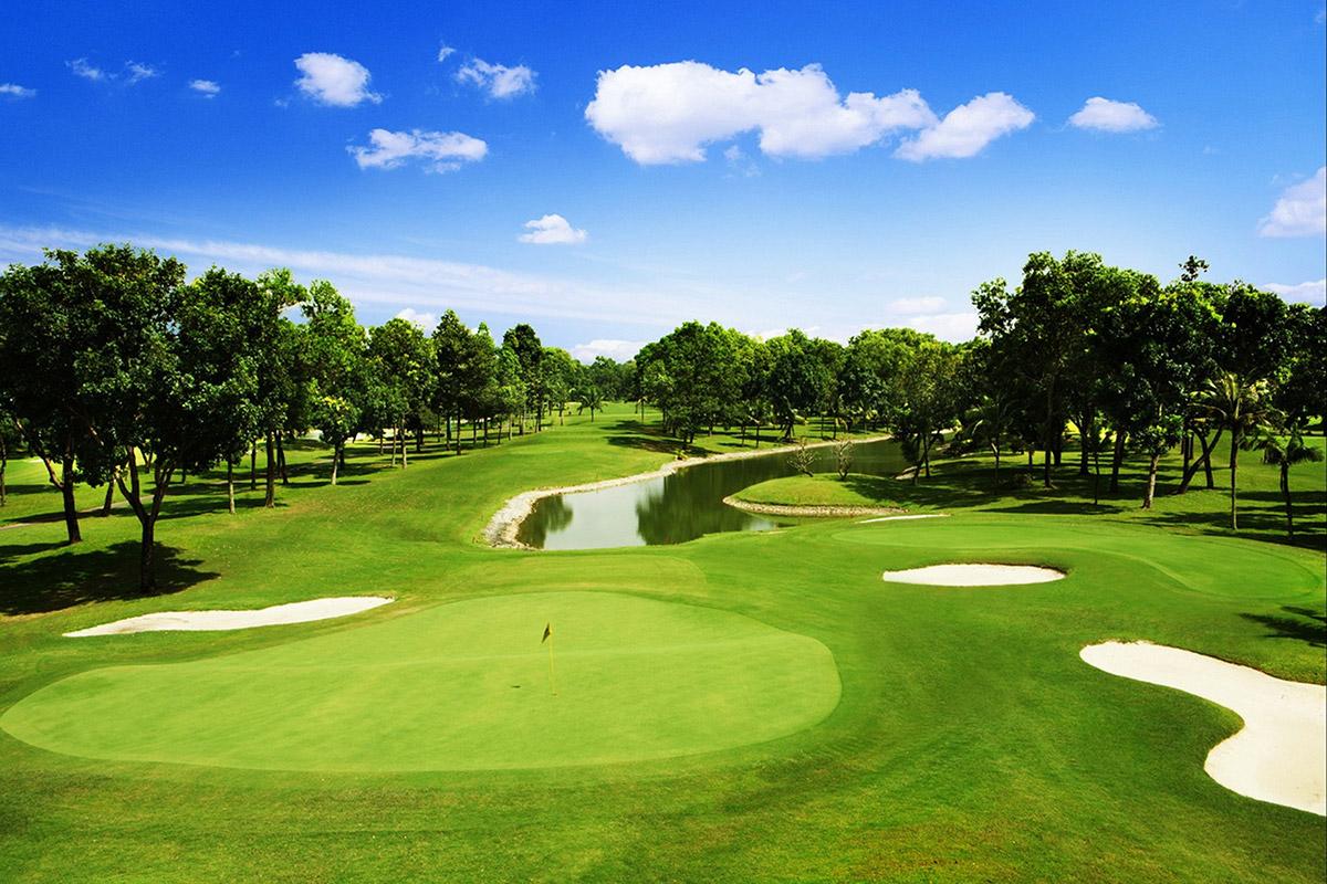 Sân Golf 9 lỗ hiện đại