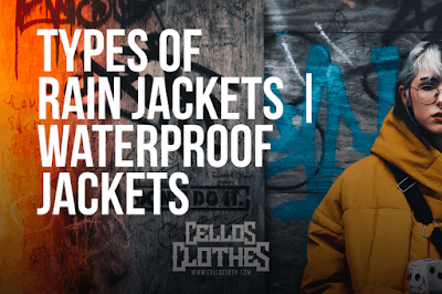 Jenis Jaket Outdoor dengan Bahan Waterproof Anti Hujan