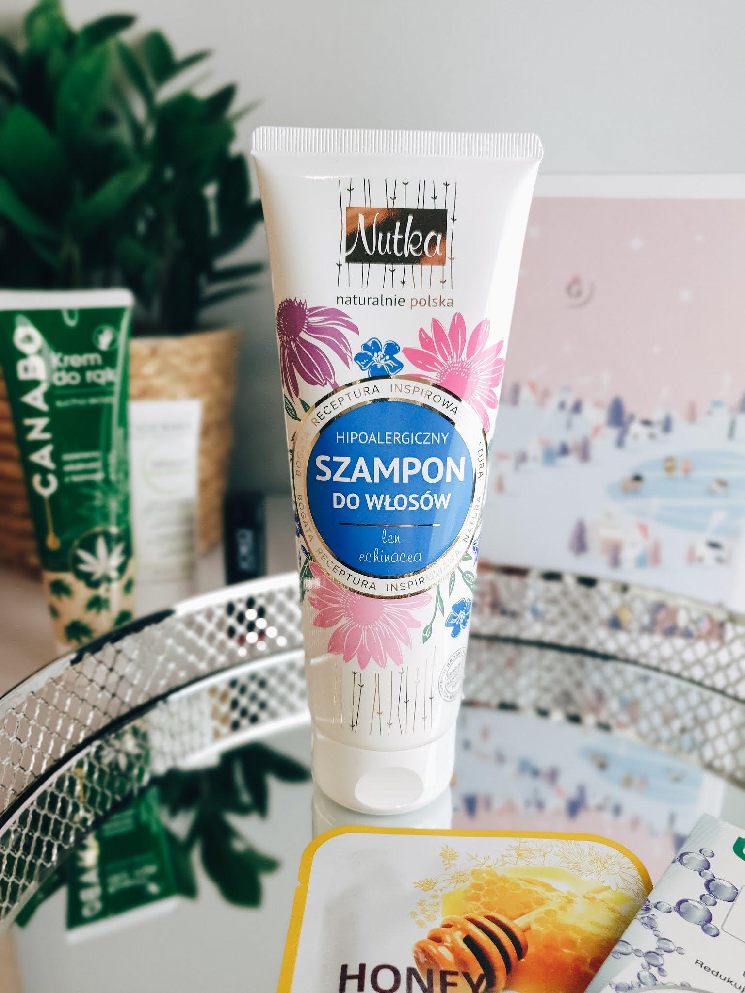 NUTKA - hipoalergiczny szampon do włosów