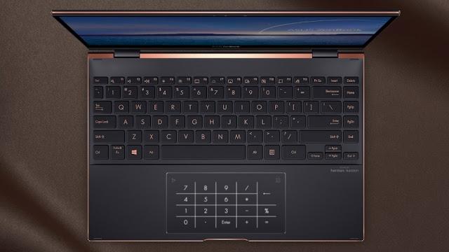Edge to edge Asus keyboard