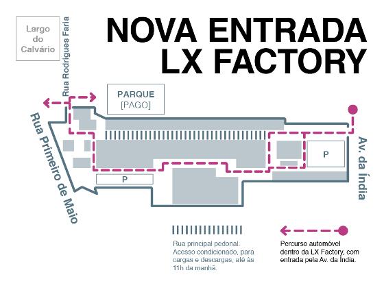 Nova entrada LxFactory
