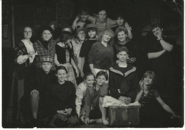 """obsada spektaklu """"Emil i detektywi"""", reż. Halina Machulska, 1991"""