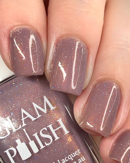 Glam Polish Don't Speak 25 Sweetpeas