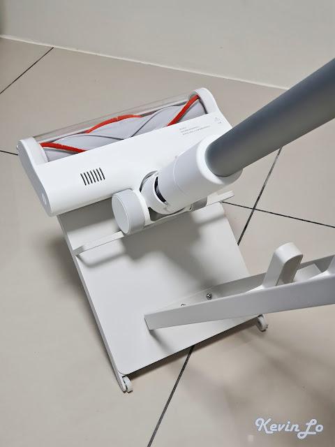 米家無線吸塵器收納立架有輪子方便移動