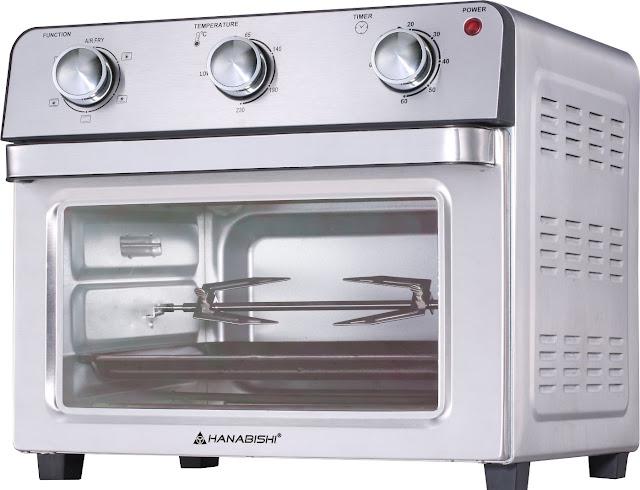 The Hanabishi Air Fryer Oven Is Your 6-in-1 Cooking Partner