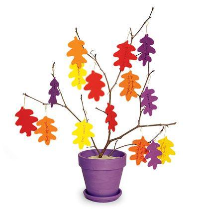 Thankful Tree Decoration