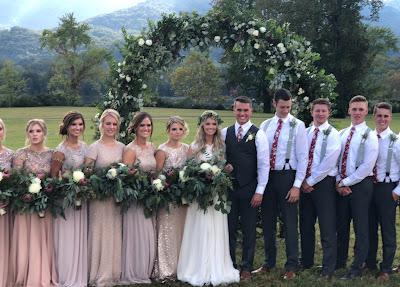Josie Bates Balka wedding