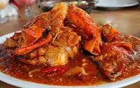 Kepiting tempat kuliner pekanbaru