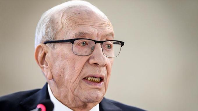 Breaking: Tunisia president Dies at 92