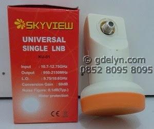 LNB,KU Band,Skyview Single