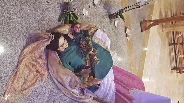 Roban y destrozan la iglesia de San Agustín, en El Ejido