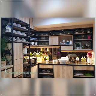 Kitchenset industrial style jakarta