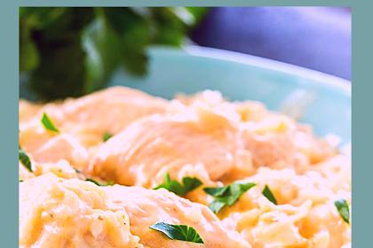 Instant Pot Garlic Parmesan Chicken