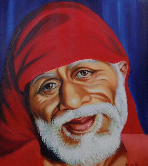 Sai baba red clothes wear images 2020