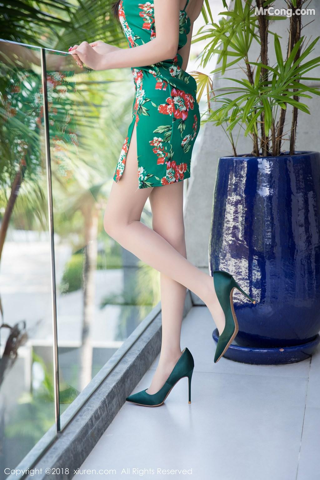 Image XIUREN-No.1196-Yang-Chen-Chen-sugar-MrCong.com-005 in post XIUREN No.1196: Người mẫu Yang Chen Chen (杨晨晨sugar) (53 ảnh)