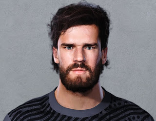 PES 2021 Faces Alisson Becker by Christian Jr