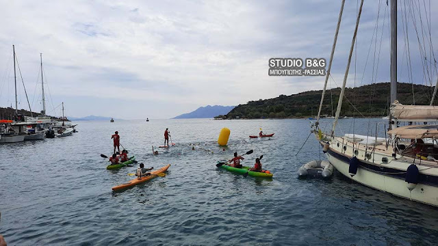 """Epidavros action"":  Σε εξελιξη οι αγώνες τριάθλου στην Επίδαυρο"