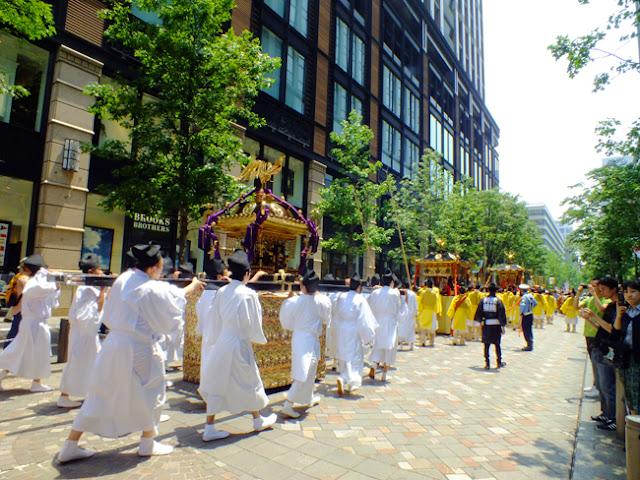Sanno Matsuri (one of Tokyo's three great festivals) at Hie Shrine, Chiyoda, Tokyo