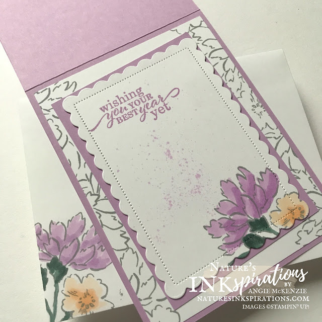 By Angie McKenzie for the Crafty Collaborations Crafty Challenge Blog Hop; Click READ or VISIT to go to my blog for details! Featuring the Hand-Penned Petals Bundle and Best Year Stamp Set along with the Scalloped Contours Dies and Meadow Dies from the 2020-21 Annual Catalog by Stampin' Up!; #colorchallenge #20212023incolors #handpennedpetalsbundle #handpennedpetalsstampset #pennedflowersdies #bestyearstampset #scallopedcontoursdies #meadowdies #birthdaycards #floralcards #coloringwithblends #twine #cardtechniques #craftychallengebloghop #stampinup #naturesinkspirations #makingotherssmileonecreationatatime