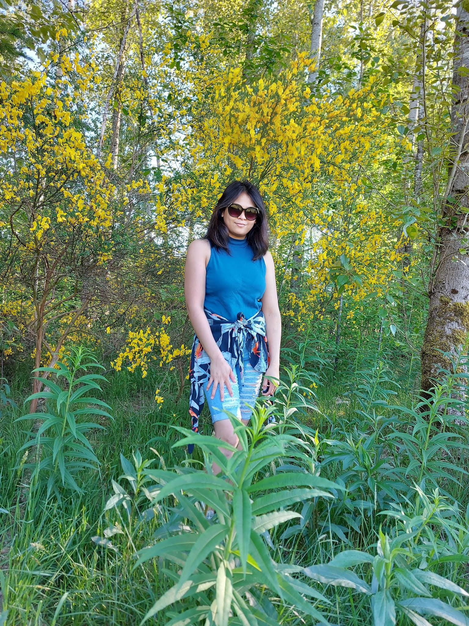 Just me in Nature Photograph