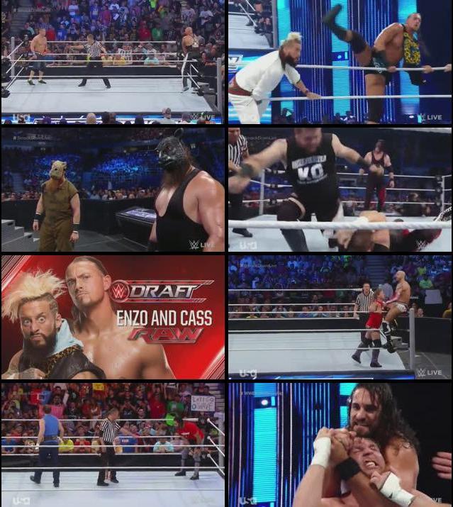 WWE Smackdown Live 19 July 2016 HDTV 480p