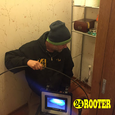 Yakima WA plumber sewer inspection camera