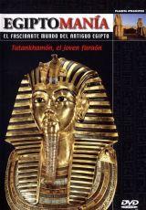 """Carátula del DVD: """"Egiptomanía: el fascinante mundo del antiguo Egipto"""""""
