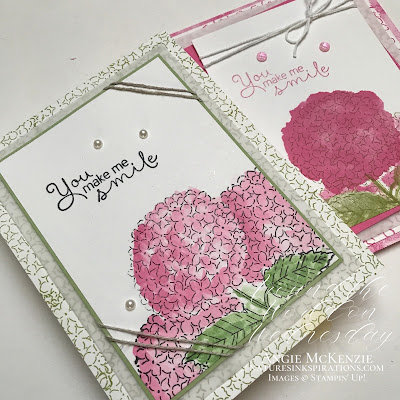 Weekly Digest | Week Ending July 17, 2021 |  Nature's INKspirations by Angie McKenzie for Around the World on Wednesday Blog Hop; Click READ or VISIT to go to my blog for details! Featuring the Hydrangea Haven Photopolymer Stamp Set found in the 2021-2022 Annual Catalog by Stampin' Up!®; #caseateammember #stamping #aroundtheworldonwednesdaybloghop #awowbloghop #hydrangeahaven #hydrangeas #pinkhydrangeas #naturesinkspirations #maskingtechnique #diycrafts #makingotherssmileonecreationatatime #cardtechniques #stampinup #handmadecards #stampinupcolorcoordination #simplestamping #fussycutting #papercrafts #vellumlayer