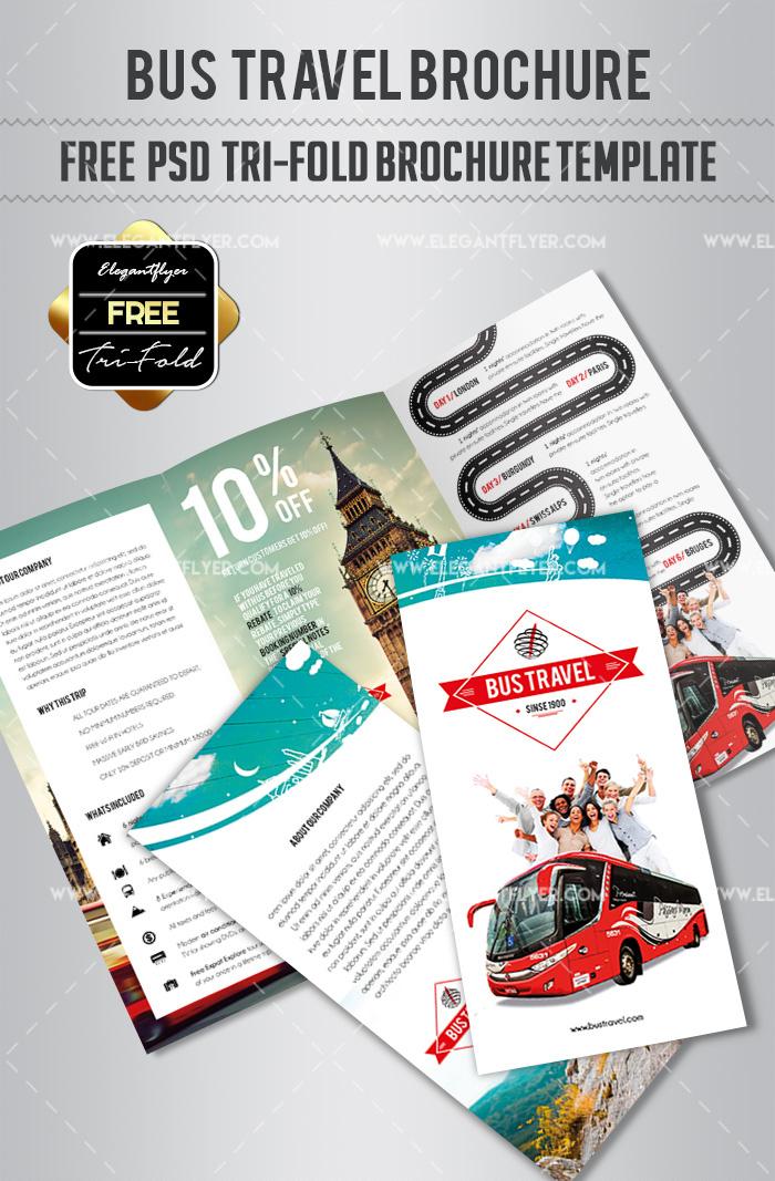 Free Brochure Templates - Free psd brochure template