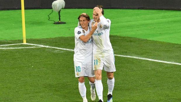 Team Raksasa Spanyol Real Madrid Bisa Memainkan Bale Dan Modric Di Liga Champions 2019