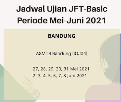 JFT Basic Bandung mei juni