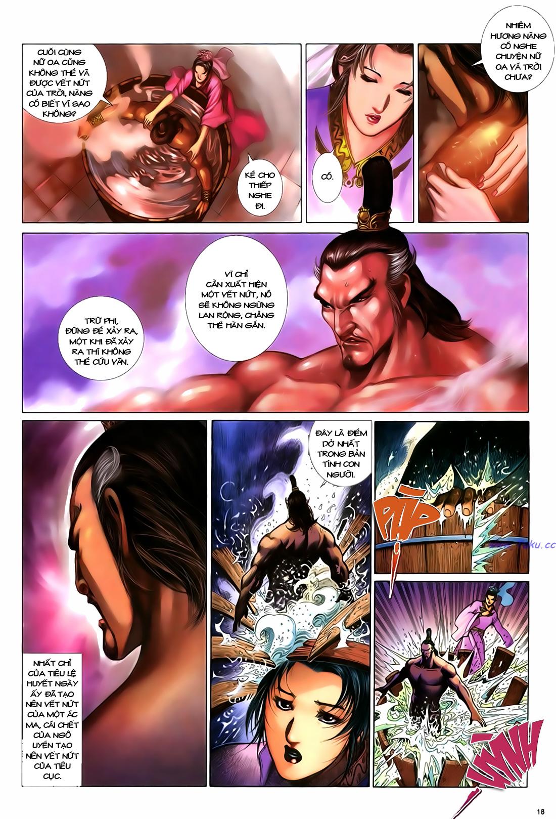 Anh hùng vô lệ Chap 18 trang 19