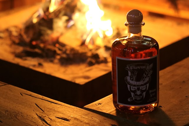The Perfect Halloween Tipple - Steampunk Spirit's Voodoo Spiced Rum