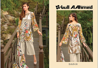 Pakistani lawn Suits Wholesale Price: Gull A Ahmed