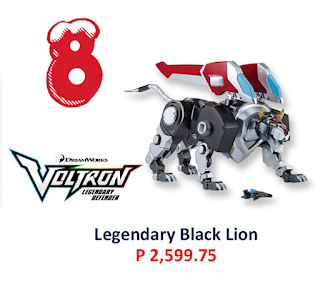 voltron legendary black lion toy