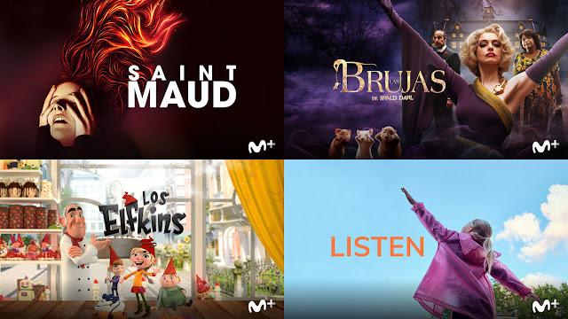 Saint Maud, Las brujas, Los Elfkins, Listen