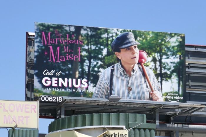 Mrs Maisel Genius 2019 Emmy FYC billboard