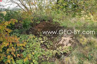 Третий немецкий вспомогательный бункер. Руины. Закопан